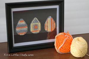 Stitched Easter Egg