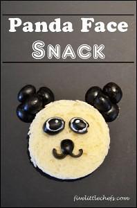 Panda Face Snack